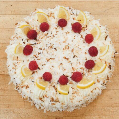 coconut la raz cake