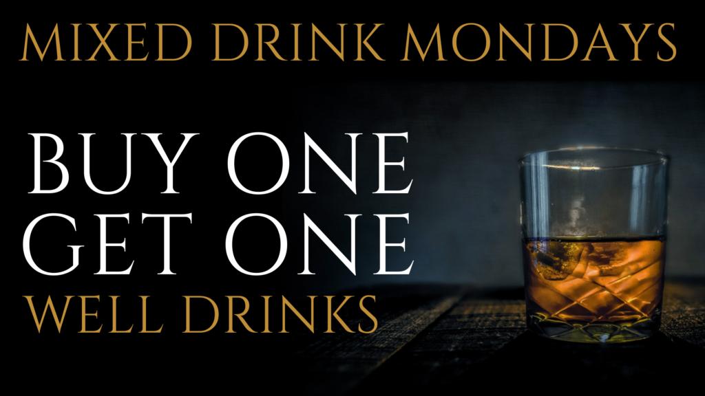 monday drinks