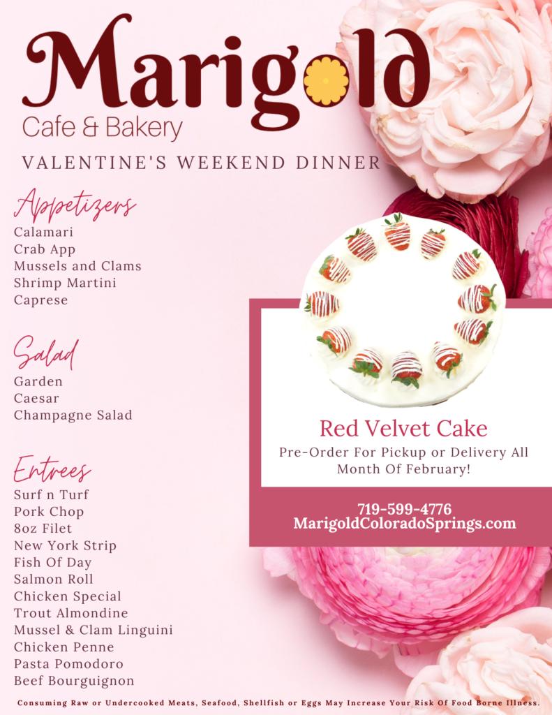 Marigold Valentines No Price